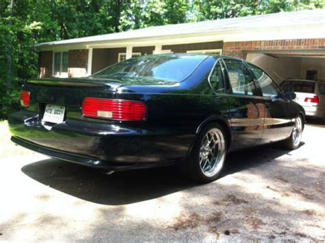 Sell used 1995 Caprice LT1 tastefully and professionally