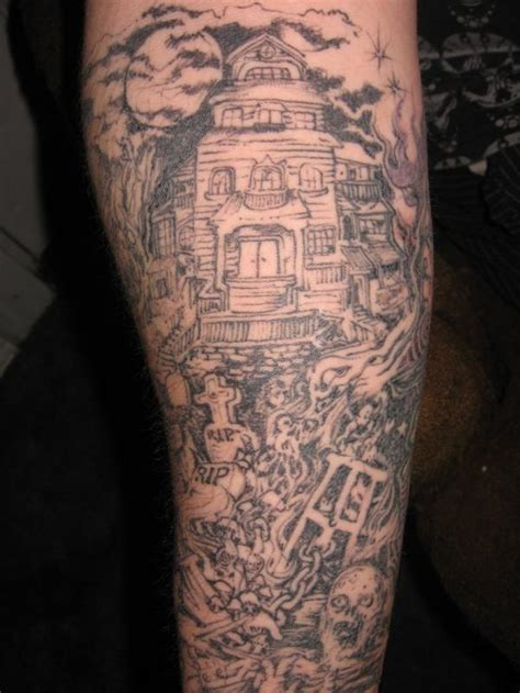 Graveyard Tattoos Designs, Ideas and Meaning   Tattoos For You