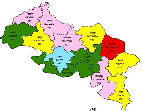 Map Of India District Wise - Maps of the World