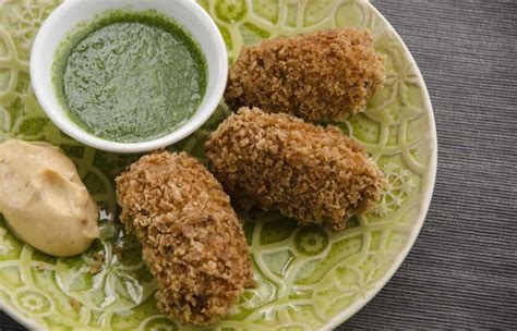 spanish croquettes with chorizo & chicken   lost in food