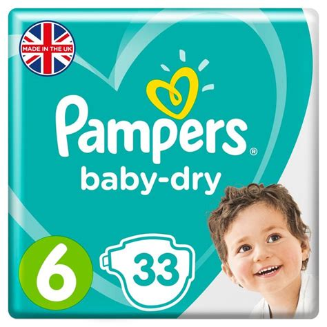 Morrisons: Pampers Baby Dry Size 6 Nappies Economy Packs