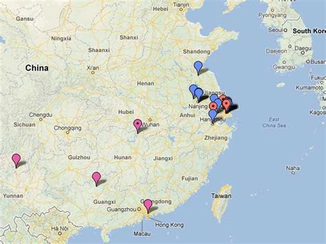 Map Of China's H7N9 Bird Flu Outbreak - Business Insider