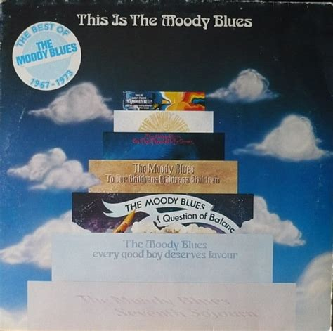 The Moody Blues - This Is The Moody Blues (1975, Vinyl