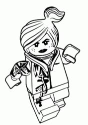 """""""The LEGO Movie"""" coloring pages"""