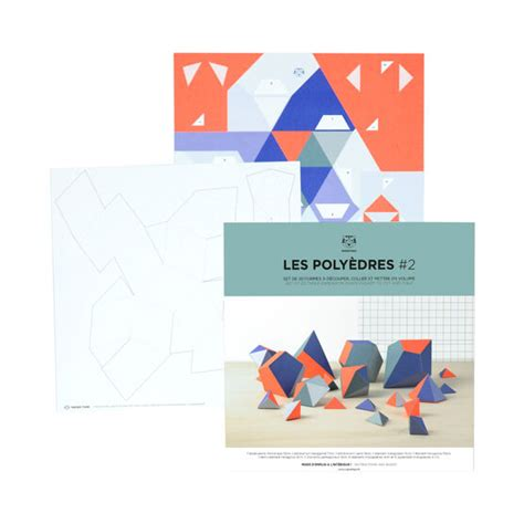 Polyhedrons shapes kit 2 | Art and crafts | Tate Shop | Tate