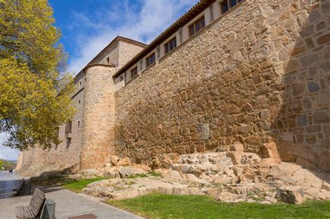 Ancient Fortification Of Avila Stock Photo - Image of