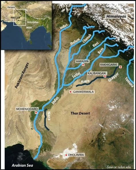 The Indus System | Geography map, Ancient world history