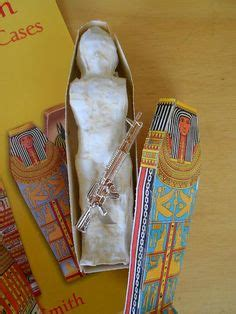 How to Make a Mummy's Tomb Out of a Shoe Box for Kids
