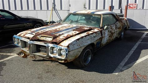 REAL 1969 FIREBIRD TRANS AM RAM AIR III PROJECT WITH NO