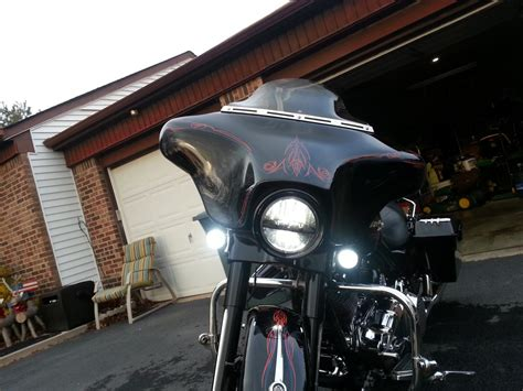 """Upgrade your bagger headlight with the 7"""" led now $199"""