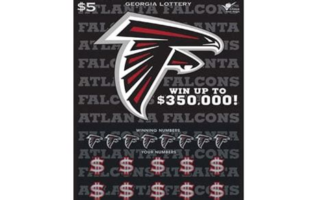 Georgia Lottery and Atlanta Falcons announce new scratch