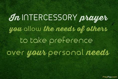 INTERCESSORY PRAYER EXAMPLE and Prayer Points in the Bible