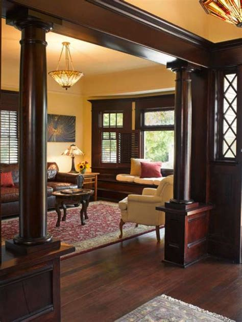 Rooms with Dark Wood Trim   Uploaded to Pinterest