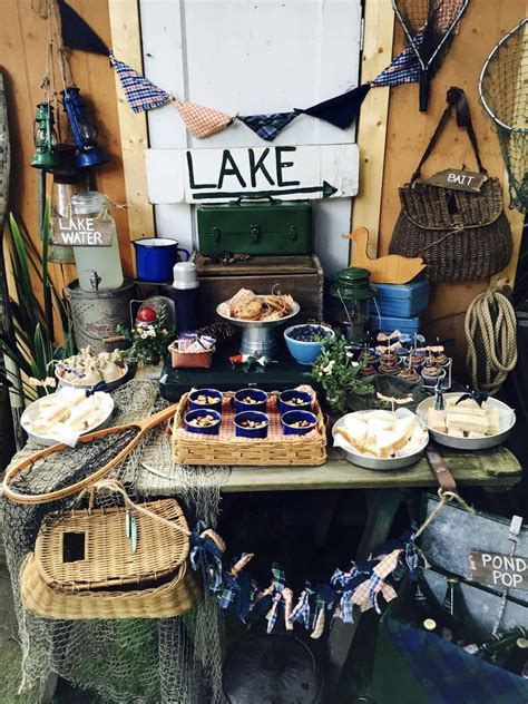 Lake, Fishing Summer Party Ideas | Photo 1 of 23 | Catch