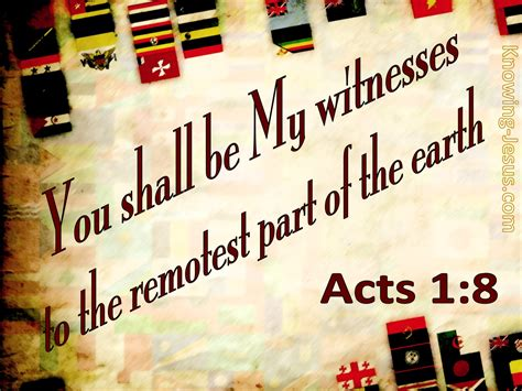 What Does Acts 1:8 Mean?
