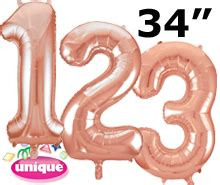 Unique Numbers : Wholesale balloons and party supplies