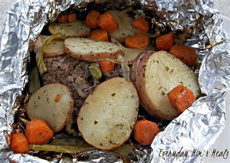 Grilled Hobo Dinners Recipe • The Simple Parent