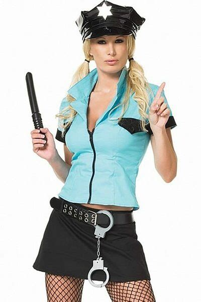 Police Officer Frisk Me Costume, Hot Cop Outfit   3WISHES