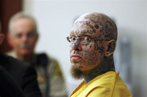 Utah inmate covered in neo-Nazi tattoos loses right to