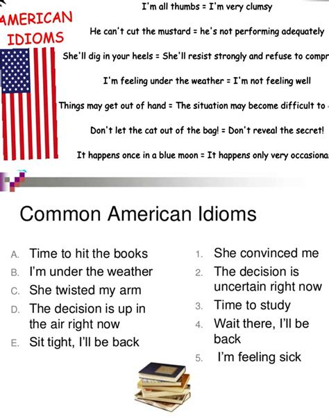 30+ Common American Idioms You Need to Know – ESL Buzz
