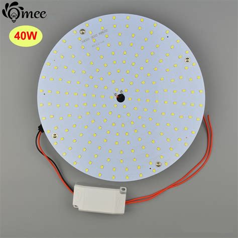 Modern 40w Round Led Ceiling Light Lamp Plate Circle