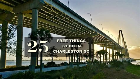 25 Free Things to Do in and around Charleston SC