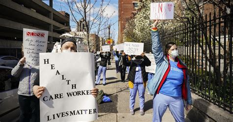 Health care workers during the coronavirus pandemic aren't