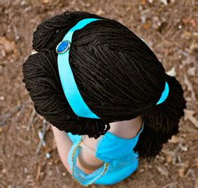 booturtle's show and tell: A Jasmine Yarn Wig