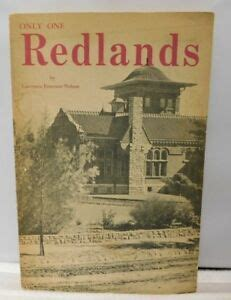 Only One Redlands 1963 Paperback Book By Lawrence Emerson