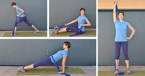 15-Minute Resistance Band Triceps Workout | Tone, Tighten