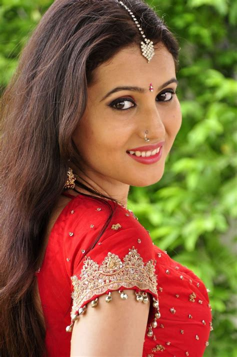 Girls Are My Weakness: ANU SMRUTHI Telugu Actress in Red