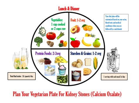 Diet Chart For Kidney Stone Patients Pdf - Chart Walls