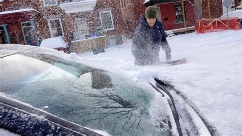 Ottawa area in grips of record cold snap   CBC News