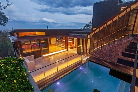 Gorgeous Use of Wood Takes this Mansion to the Next Level
