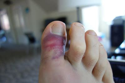 Family blog: Sticking Your Toe In It