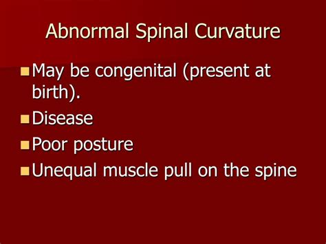 PPT - Spinal Curvatures PowerPoint Presentation, free