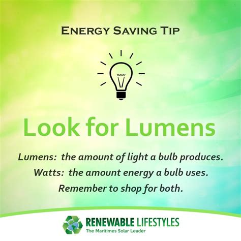 Lumens measure how much light you are getting from a bulb