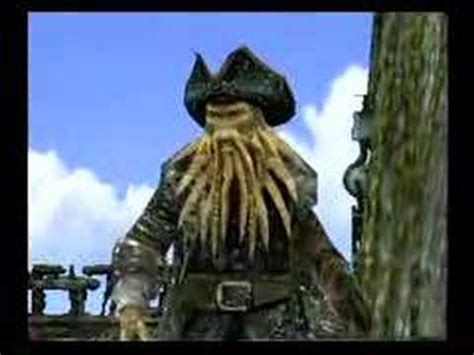 Davy Jones in the Pirates of the Caribbean 3 Video Game