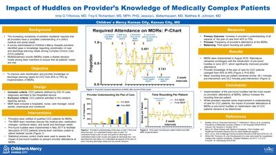 """""""Impact of Huddles on Provider's Knowledge of Medically"""