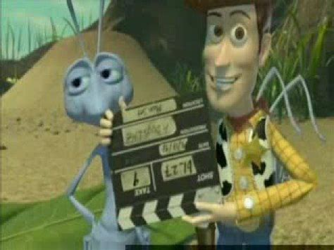 The A Bug's Life bloopers always put a smile on my face