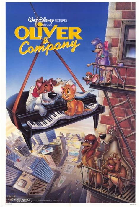 Oliver & Company Movie Posters From Movie Poster Shop
