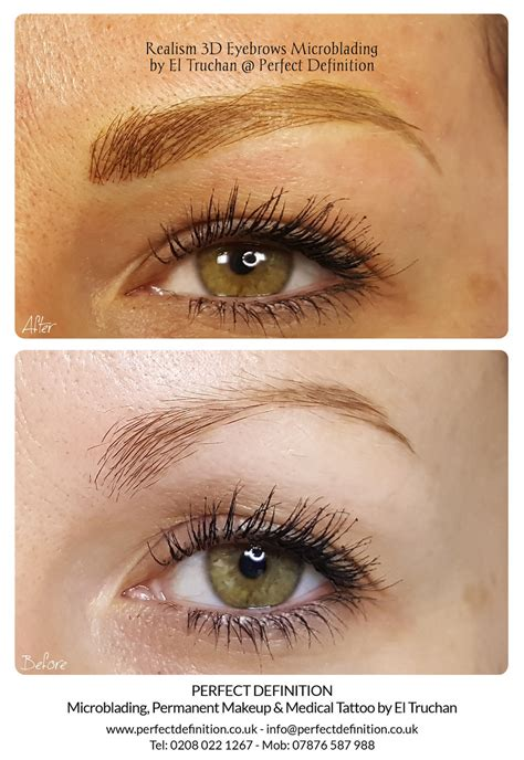 Realism 3D Eyebrows Microblading by El Truchan @ Perfect