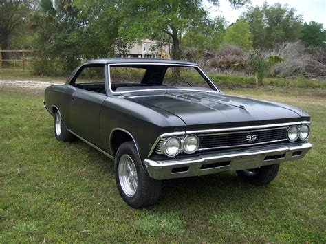 1966 Chevrolet Chevelle SS - Project Cars For Sale